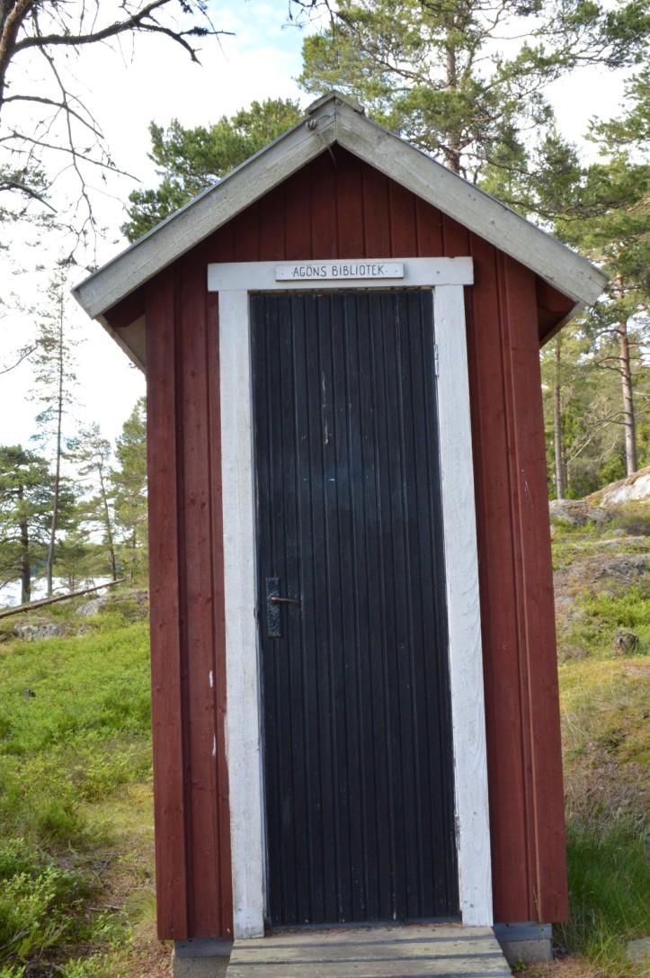 Agö Storhamn pieni kirjasto