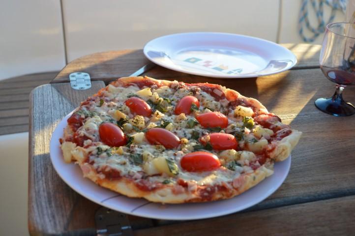 Ihanaa pizzaa saaristossa