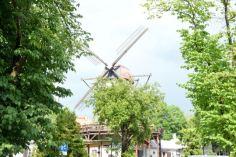Windmill turned restaurant