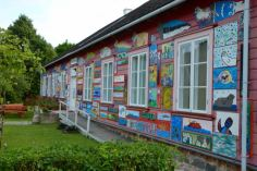 The museum with local artwork
