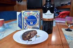 Dessert and port