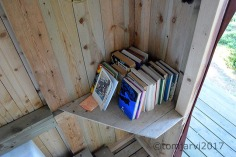 Best library in an outhouse