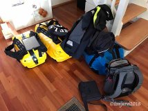 This is what two people need for a month at sea