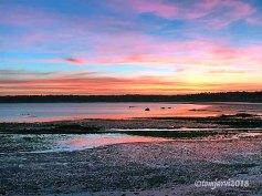 Saint Aubin Bay low tide