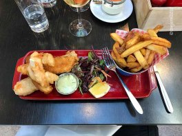 Posh fish'n chips