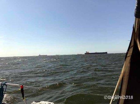 Approaching Rotterdam
