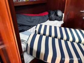 Ingenious padding for not falling out of your bunk