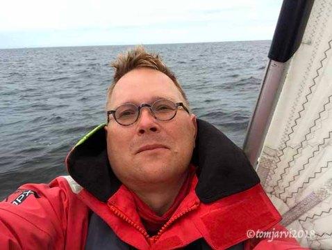 Captain selfie