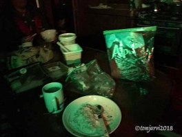 Breakfast in the dark