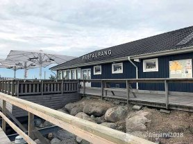 Ystad Marina restaurant, murder scene in Wallander-city, known as restaurant Chez moi in one movie