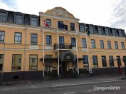 Hotel Continental, one of Sweden's oldest hotels. The restaurant is one of Wallanders favourites.