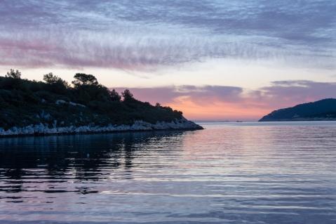 Sunrise in Vis